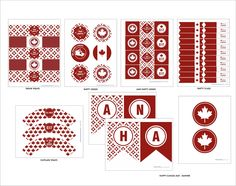 Wanessa Carolina creations: CANADA DAY {FREE PRINTABLES} :: DESIGN REVEAL FRIDAY