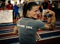 Christmas Abbott. Love her. CrossFit CrossFit CrossFit!