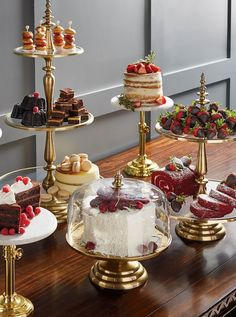 Serve delectable treats in style with our exquisitely detailed Amelie Tiered Servers. Each clear glass serving tier features a stainless-steel border with a mat Tiered Server, Thanksgiving Decorations, Food Presentation, High Tea, Dessert Table, Afternoon Tea, Tea Time, Sweet Treats, Food And Drink