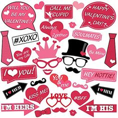 Valentines Photo Booth, Happy Valentines Day Pictures, Valentines Day Date, Galentines Day Ideas, Valentines Day Decorations, Wedding Decorations, Day Date Ideas, Photos Booth, Valentine's Day Crafts For Kids