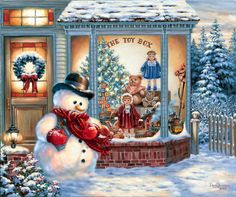 The Toy Box Snowman