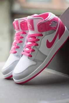 Jordan Brand is offering up a colorway of the Air Jordan 1 Mid for women and girls in a white,...