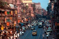 Kolkata (Calcutta), India - my favorite place in India, probably because my son was born there! Also because it is so full of life!