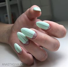 Nice Nails, Fun Nails, Manicure Ideas, Nail Ideas, Witchy Nails, Beauty Is Fleeting, Minimalist Nails, Oval Shape, Hair And Nails
