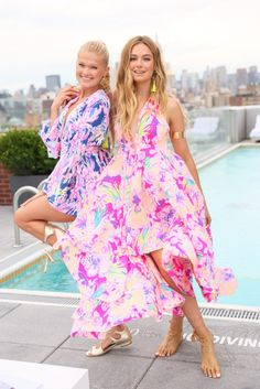 Lilly Pulitzer Resort 2017 Presentation: Life Under Printed Palms Lilly Pulitzer Prints, Lily Pulitzer, Preppy Style, My Style, Estilo Preppy, Summer Outfits, Cute Outfits, Vs Models, Dress Me Up
