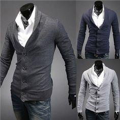 d898e37cf653f1 Men Cotton Cardigan 2013 autumn new men s lapel design Slim Korean version  of personality sportsman men s white cardigan sweater