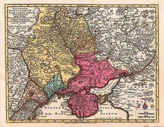 Мала Татарія та Україна - держава козаків. Матеус Зойтер1740 р.