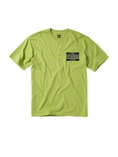 Camiseta Quiksilver Men's Self Serve T-Shirt Peridot #Quiksilver#Camiseta