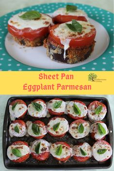 This non-fried, oven baked eggplant parmesan is super easy to make and unbelievably delicious. 15 minutes of prep and the rest is just baking. Perfect for dinner or that weekend party. Enjoy! #MediterraneanDiet #SheetPanRecipes #SheetPan #MediterraneanDietPlan #Eggplant #EggplantParmesan Oven Baked Eggplant, Eggplant Parmesan, Fodmap Recipes, Gourmet Recipes, Cooking Recipes, Keto Recipes, Gourmet Foods, Veggie Recipes, Mediterranean Diet Meal Plan