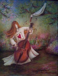 valencia van zil Fine Art, Naive Art, Painting, Art, Folk