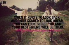 ..look beside you...
