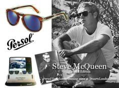Men's Fashion Blog by Stuarts London: Steve McQueen - Limited edition Persol Sunglasses Coming soon