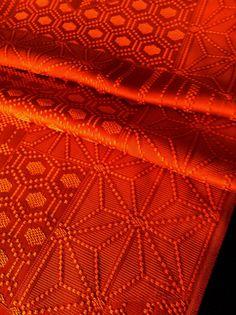 Japanese vintage silk fabric