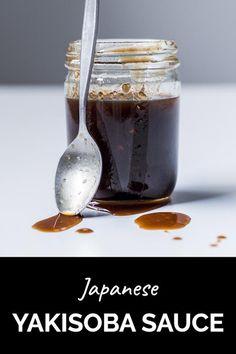 Yakisoba Sauce Recipe, Noodle Sauce Recipe, Sweet Soy Sauce Recipe, Japanese Sauce, Japanese Food, Japanese Steak Sauce Recipe, Beef Yakisoba, Sushi Sauce, Buzzfeed Food Videos