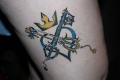 Kingdom Hearts tattoo                                                                                                                                                                                 More