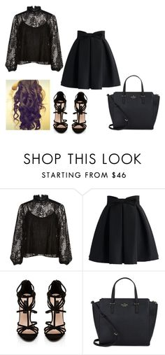 """""""Untitled #215"""" by hannahmcpherson12 ❤ liked on Polyvore featuring River Island, Chicwish, Forever New and Kate Spade"""
