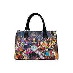 Goodluck Custom Disney Villains Tote Bag Shoulder Bag for Women Boston Bag -- Continue to the product at the image link.