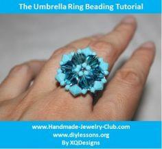Beaded Umbrella Ring - http://www.diybeadingclub.com/amember/aff/go?r=5