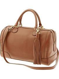 Evan leather satchel