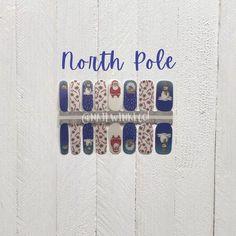 Christmas Nails / Nail Stickers/ Santa Claus Nails / Nail Polish Strips Christmas Nail Stickers, Christmas Nails, Cuticle Oil, Nail Polish Strips, Us Nails, Nail Wraps, Short Nails, Essie, Manicure
