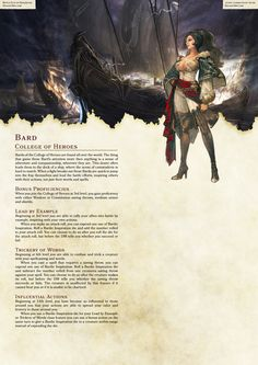 DnD Homebrew — Arilianis Subclasses Part Dungeons And Dragons Classes, Dungeons And Dragons Homebrew, Dnd Characters, Fantasy Characters, Dnd Bard, Rpg Map, Dnd Races, Bard College, Character Design