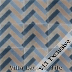 """Herringbone"" Cement Tile $16.77/ foot 70ft minimum"