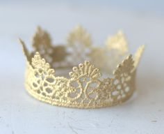 Newborn Gold Crown.  Baby Gold Crown. Newborn by verityisabelle, £14.00