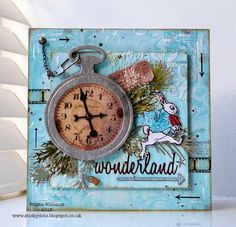 That's Life: A Very Important Date ~ Simon Says Stamp Monday Challenge using Tim Holtz, Ranger, Idea-ology, Sizzix and Stamper's Anonymous products; Mar 2015