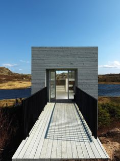 A studio located in Newfoundland and designed by Saunders Architecture.