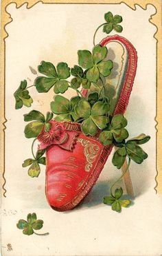 St. Patrick's Day greeting card....