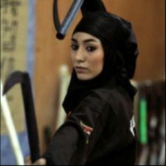 Ninja of woman of Iran