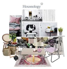 """'Houseology AW15 Lookbook: Urban Contest' set #1"" by hexy ❤ liked on Polyvore featuring interior, interiors, interior design, home, home decor, interior decorating, Marimekko, Fatboy, Tonon and Murmur"