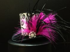 Pink Mad Hatter Mini Top Hat. Great for Birthday Parties, Tea Parties ...