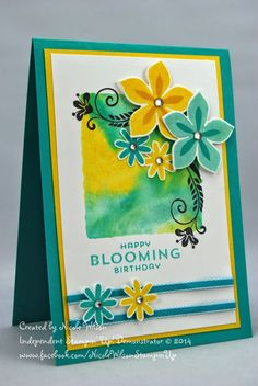 Nicole Wilson Independent Stampin' Up! Demonstrator: Flower Patch