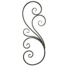 Iron Scroll Wall Decor