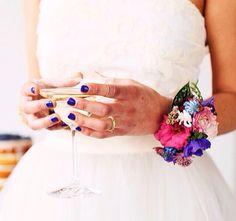 Wedding Nails #opi #zenznaildesign #arnhem #gelcolor #blue #women