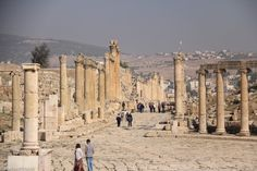 Holy Land Designs GT recommends: The Roman Ruins of Jerash www.holylanddesigns.com www.etsy.com/shop/HolyLandDesignsGT