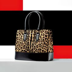 Max Mara Ginevra Leopard Printed Pony Hair Bag Trendy Handbags Purses And My