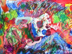 Kandinsky expressionism art lessons | Art Lessons For Kids. How sounds feel. Using paper, paint, oil pastels.