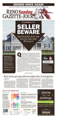 Reno Gazette-Journal Sunday, December 21, 2014   Published in Reno, NV USA
