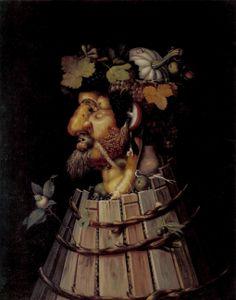 Осень. Autumn, 1572. Джузеппе Арчимбольдо. Giuseppe Arcimboldo.