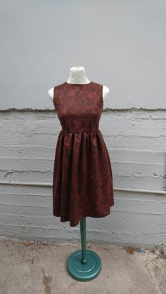 FREE Registered Shipping  Handmade brown velvet by IL2C on Etsy