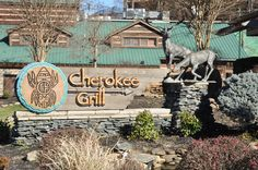 Cherokee Grill in Gatlinburg - A great place to eat delicious food with family and friends!
