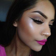 Image about girl in make up by fenia on We Heart It Makeup On Fleek, Kiss Makeup, Flawless Makeup, Makeup Art, Beauty Makeup, Beauty Tips, Eye Makeup, Beauty Hacks, Hair Makeup