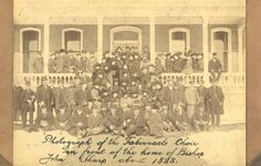 Fashion of the Mormon Tabernacle Choir, 1888