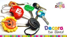 How to Decorate your Keys with Polymer Clay - Video Tutorial