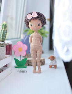 Doll Patterns Free, Crochet Dolls Free Patterns, Amigurumi Patterns, Bear Patterns, Crochet Doll Tutorial, Popular Crochet, Knitted Dolls, Cute Crochet, Stuffed Toys Patterns