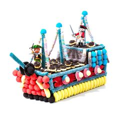 composition bonbon bateau pirate - Candy-Mail