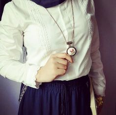 Arab Fashion, Muslim Fashion, Girl Fashion, Fashion Dresses, Womens Fashion, Hijab Office, Abaya Style, Girly Pictures, Hijab Dress