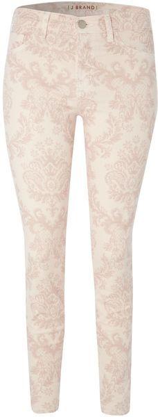 J Brand Baroque Print Capri Jeans
